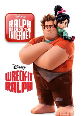 Wreck-It Ralph/Ralph Breaks The Internet available in Sky Store now